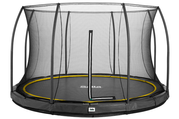 Salta trampoline Comfort Edition Ground antraciet 366 cm.